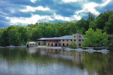 Princeton Boathouse. Courtesy of Aaron Cropper.