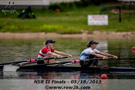 Kristin Hedstrom and Kate Berko, Lightweight Women's Double. Photo courtesy of row2k.com