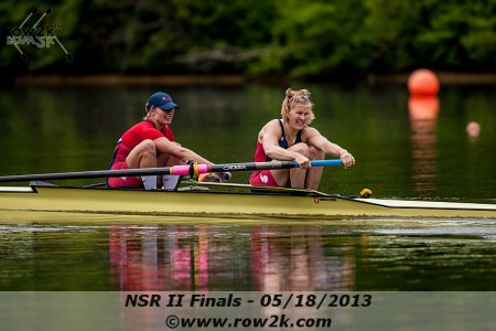 Taylor Goetzinger and Meghan Musnicki, Women's Pair. Photo courtesy of row2k.com