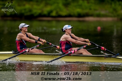 Meghan O'Leary and Ellen Tomek, USTC Women's Double. Photo courtesy of row2k.com
