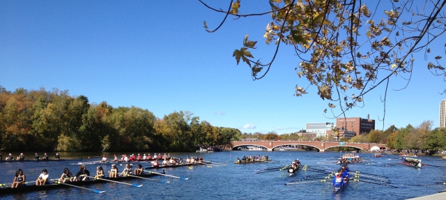 Eliot Bridge, Charles River