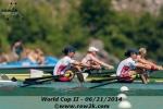 Final strokes of our semifinal, WCII. (Photo courtesy of row2k.com, Erik Dresser)