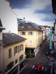 View from our hotel in Aix-Les-Bains, France.