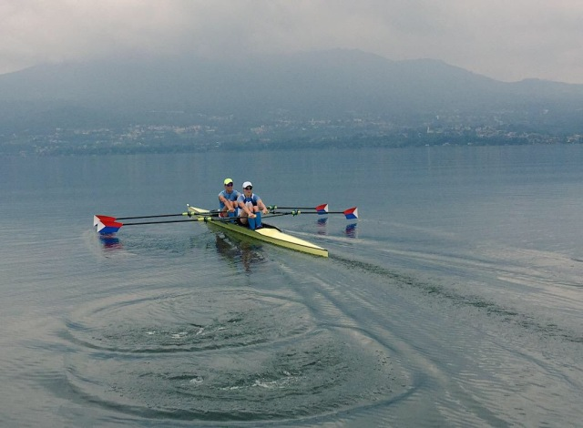 Shot from our last day of training on Lake Varese before WC2 racing began. Photo credit: Jeremy Ivey