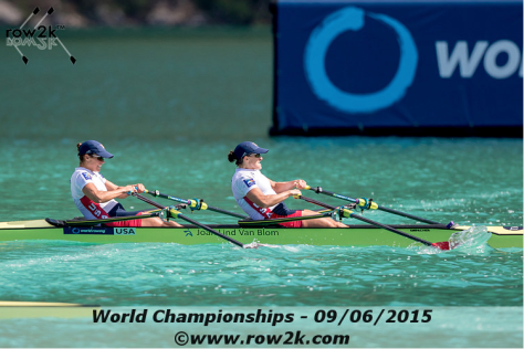 Ellen and I squeaked through Olympic qualification with an 11th place overall finish.